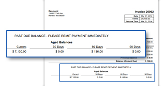 BillTime AR Balances Summary For Invoices BillTime Blog - Past due invoice template