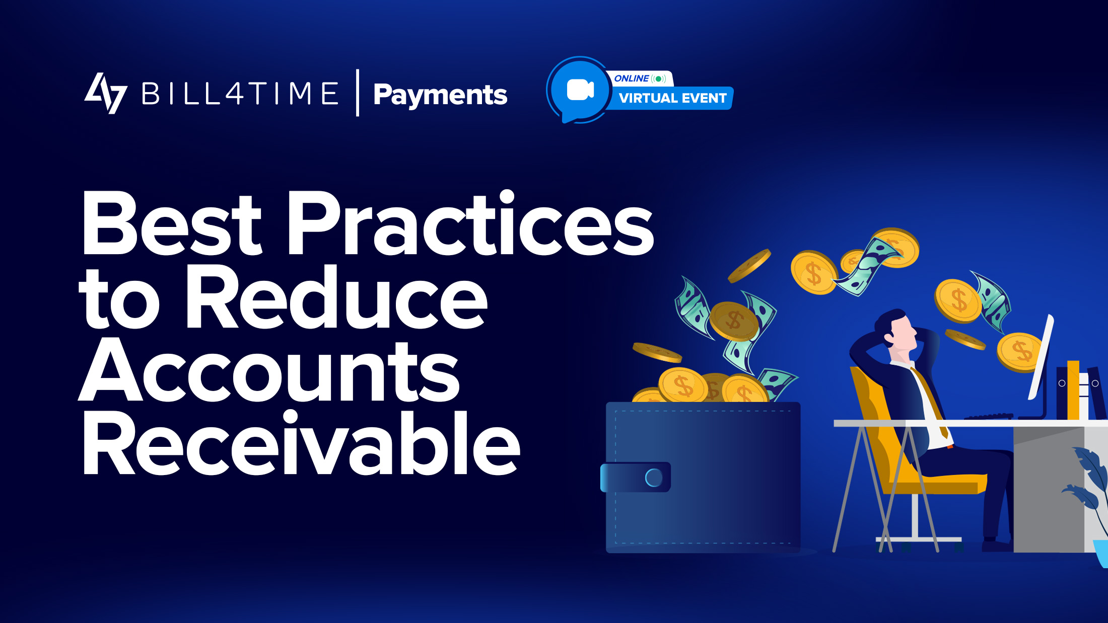 reduce accounts receivable