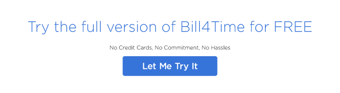 Try Bill4Time for Free!