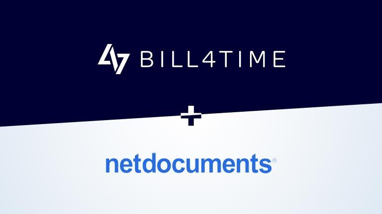 Bill4Time_NetDocuments
