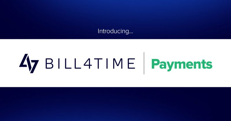 Introducing Bill4Time Payments