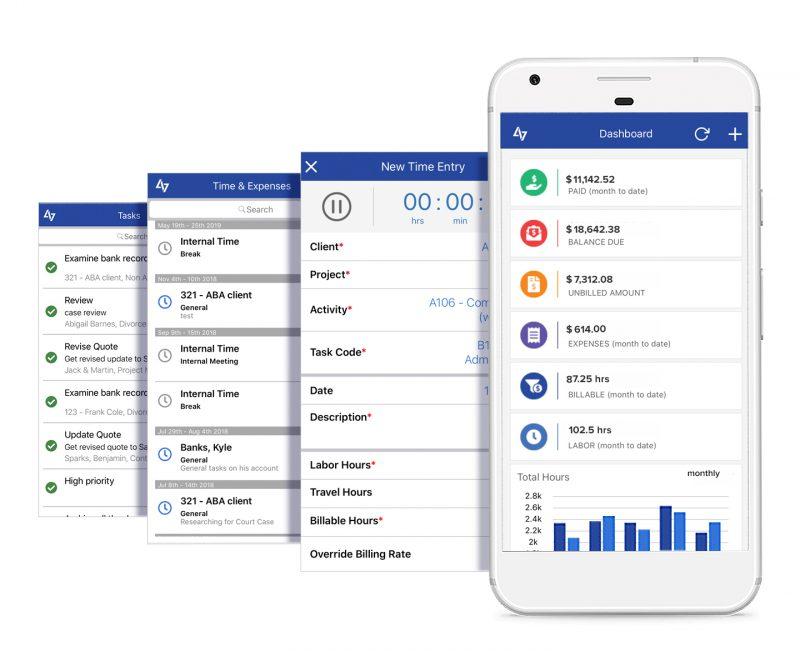 Bill4Time Mobile App