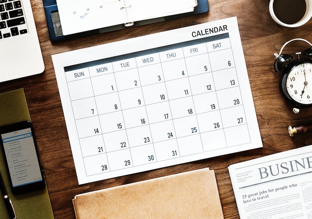 attorney calendar
