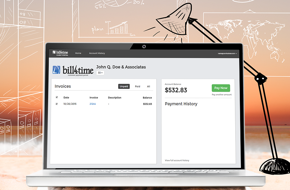 Bill4Time Enhanced Client Portal
