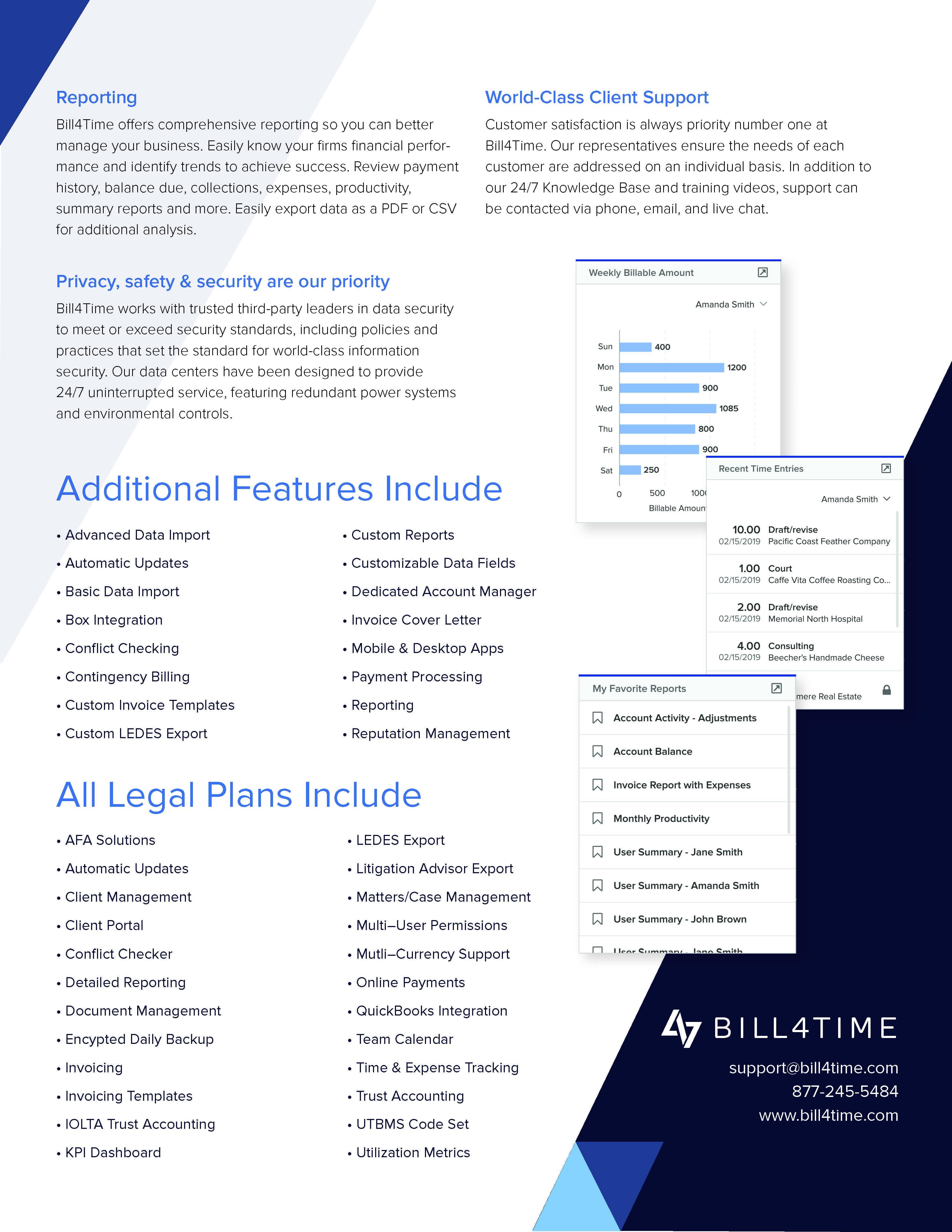time billing software offer | Bill4time