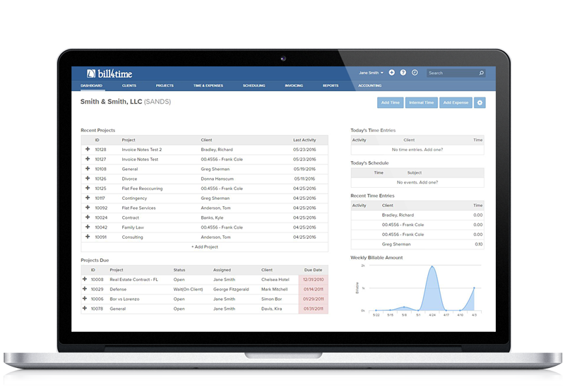 Time Billing Software BillTime - Free time tracking and invoicing software electronic stores online